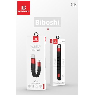 Biboshi Biboshi A08 - Elite Link Bendable Data Cable