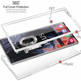 MSS Samsung Galaxy Note 10 PRO Transparent TPU 360 ° degree TPU silicone 2 in 1 case