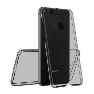 MSS Huawei Huawei P10 Lite Transparant TPU 360° graden TPU siliconen 2 in 1 hoesje