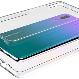 MSS Huawei Huawei P20 Transparentes TPU 360 ° TPU Silikon 2 in 1 Hülle