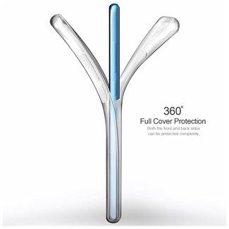 MSS Huawei Huawei P30 Transparent TPU 360 ° degree TPU silicone 2 in 1 case