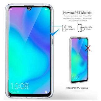 MSS Huawei Huawei P30 Lite Transparant TPU 360° graden TPU siliconen 2 in 1 hoesje