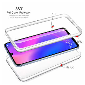MSS Huawei Huawei P30 Pro Transparant TPU 360° graden TPU siliconen 2 in 1 hoesje