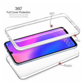 MSS Huawei Huawei P30 Pro Transparentes TPU 360 ° TPU Silikon 2 in 1 Hülle