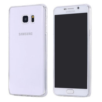 MSS Samsung Galaxy A5 2017 (A520) Transparentes TPU 360 ° TPU Silikon 2 in 1 Hülle