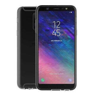 MSS Samsung Galaxy A6 Plus 2018 Transparentes TPU 360 ° TPU Silikon 2 in 1 Hülle