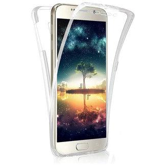 MSS Samsung Galaxy A3 2017 (A320) Transparentes TPU 360 ° TPU Silikon 2 in 1 Hülle