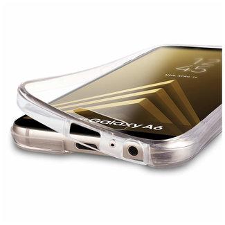 MSS Samsung Galaxy A6 2018 (A600) Transparent TPU 360 ° degree TPU silicone 2 in 1 case