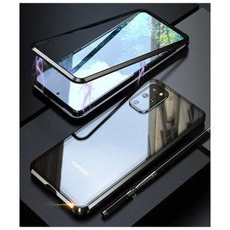 MSS Samsung Galaxy A51 Schwarz Magnetgehäuse 360 Grad Abdeckung