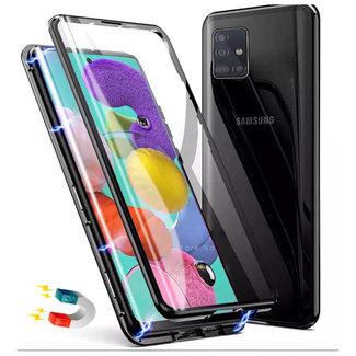 MSS Samsung Galaxy A71 Zwart Magnetic hoesje 360 graden hoesje