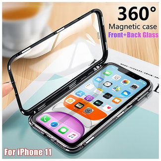 MSS Apple iPhone 11 Black Magnetic case 360 degree cover