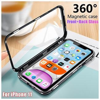 MSS Apple iPhone 11 Zwart Magnetic hoesje 360 graden hoesje