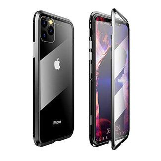 MSS Apple iPhone 11 Pro Max Grün Magnethülle 360 Grad Abdeckung