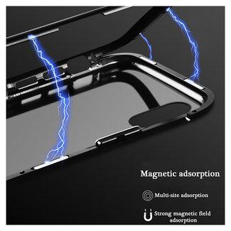 MSS Apple iPhone X/Xs Zwart Magnetic hoesje 360 graden hoesje