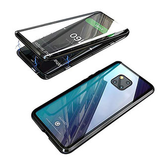 MSS Huawei Mate 20 Black Magnetic case 360 degree cover