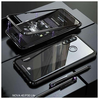 MSS Huawei P30 Black Magnetic case 360 degree cover