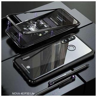 MSS Huawei P30 Zwart Magnetic hoesje 360 graden hoesje