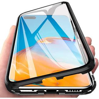 MSS Huawei P40 Schwarz Magnetgehäuse 360 Grad Abdeckung