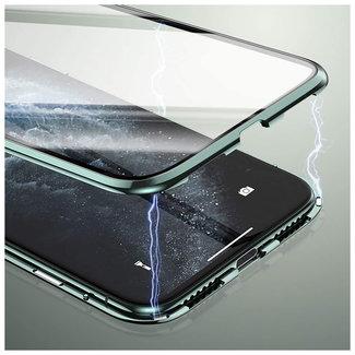 MSS Huawei P40 lite Zwart Magnetic hoesje 360 graden hoesje