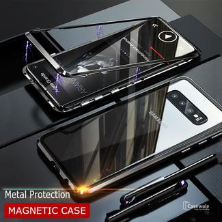 MSS Samsung Galaxy S10e Zwart Magnetic hoesje 360 graden hoesje