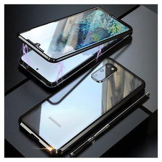 MSS Samsung Galaxy S20 Zwart Magnetic hoesje 360 graden hoesje