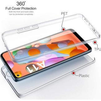 MSS Samsung Galaxy A11 Transparant TPU 360 graden hoesje