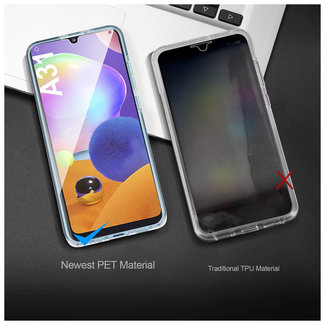 MSS Samsung Galaxy A31 Transparant TPU 360 graden hoesje