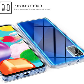 MSS Samsung Galaxy A41 Transparent TPU 360 degree cover