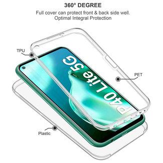 MSS Huawei P40 Lite 5G Transparent TPU 360 degree case