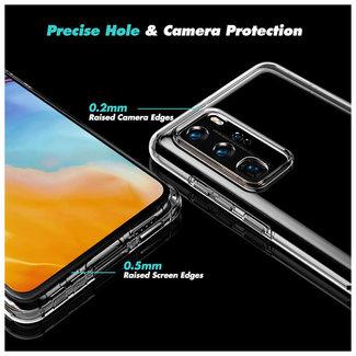 MSS Huawei P40 Transparentes TPU 360-Grad-Gehäuse