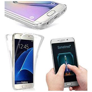 MSS Samsung Galaxy S7 Edge Transparant TPU 360 graden hoesje