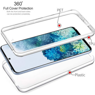 MSS Samsung Galaxy S20 Transparant TPU 360 graden hoesje