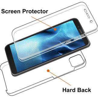 MSS Huawei Y5p Transparant TPU 360 graden hoesje