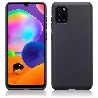 MSS Samsung Galaxy A31 Black TPU Back cover