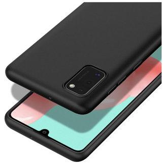 MSS Samsung Galaxy A41 Schwarz TPU Rückseite