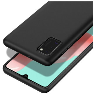 MSS Samsung Galaxy A41 Zwart TPU Back cover
