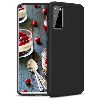 MSS Samsung Galaxy A91 S10 Lite (2020) Schwarzes TPU Rückseite