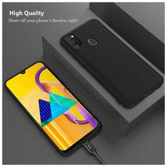 MSS Samsung Galaxy M21 Black TPU Back cover