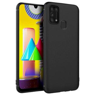 MSS Samsung Galaxy M31 Zwart TPU Back cover