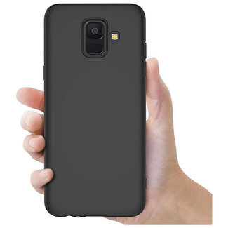 MSS Samsung Galaxy A6 (2018) Zwart TPU Back cover