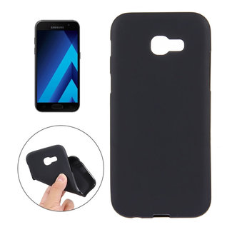 MSS Samsung Galaxy A7 (2017) Zwart TPU Back cover
