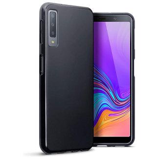 MSS Samsung Galaxy A7 (2018) Zwart TPU Back cover