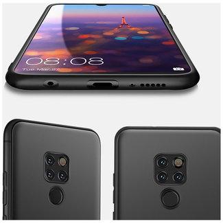 MSS Huawei Mate 20 Schwarz TPU Rückseite