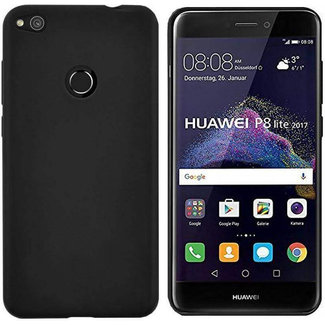 MSS Huawei P8 Lite (2017) Schwarz TPU Rückseite