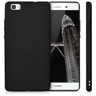 MSS Huawei P8 Black TPU Back cover