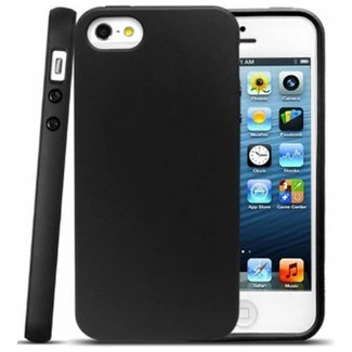 MSS Apple iPhone 5 / 5s / SE Black TPU Back cover
