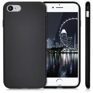 MSS Apple iPhone SE (2020) /8/7 Zwart TPU Back cover