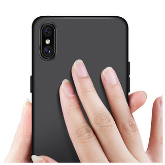 MSS Apple iPhone XS MAX Black TPU Back cover