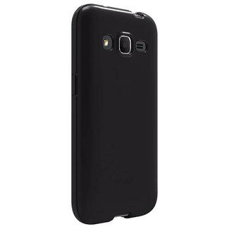 MSS Samsung Galaxy Core Prime Schwarz TPU Rückseite