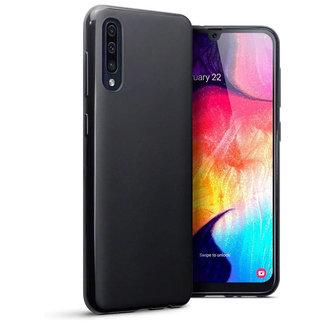 MSS Samsung Galaxy A30s/A50/A50s Zwart TPU Back cover